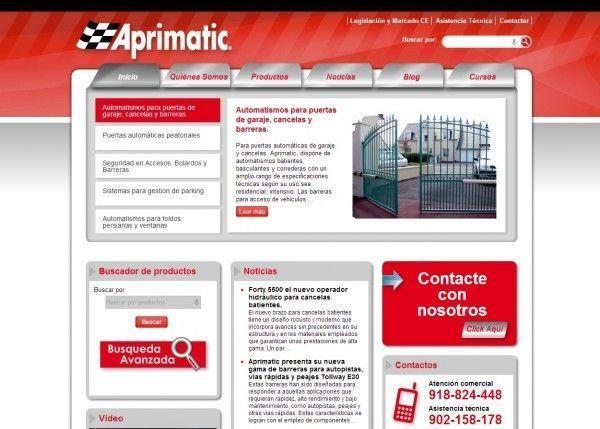 Aprimatic: puertas de Garaje