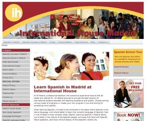 International House: Spanish in Madrid