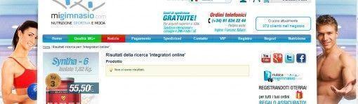 negozio integratori online