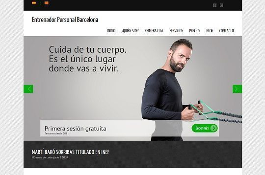 personal trainer barcelona