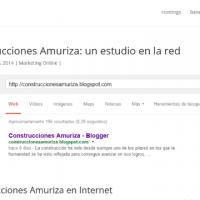 Cómo hacer una URL para construcciones amuriza